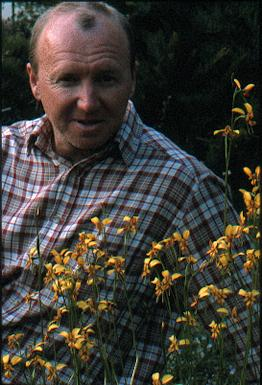 Easter 2002with Diuris emarginata X corymbosa